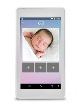JBL EBM104JB Quad-Core HD Tablet with Baby Monitor