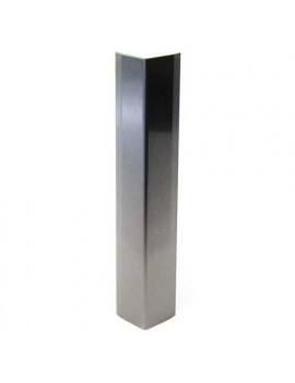 """PAWLING CORP CG-50-4 Corner Guard, Stainless, Stainless, 3-1/2""""W X 48""""H"""
