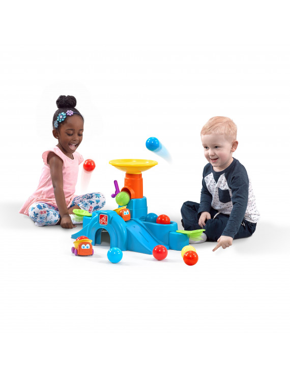 Step2 Ball Buddies Tunnel Tower for Toddlers Includes Accessories