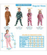 Footed Pajamas - Candy Cane Lane Toddler Hoodie Chenille Onesie
