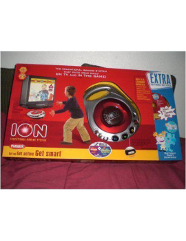 Playskool Ion Educational Gaming System with 3 Discs - Best of Nickelodeon, SpongeBob Squarepants & Blues Clues Blue's Room Birthday Party Surprise