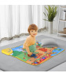 TOOLS Musical Piano Mat Piano Keyboard Play Mat Electronic Educational Musical Blanket