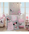 Disney Baby Minnie Mouse Pink Celestial Lamp with Shade & Bulb by Lambs & Ivy