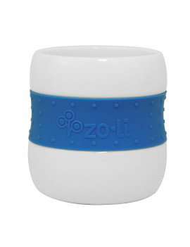 * Clearance * ZoLi GULP Ceramic Tumblers, Blue, 2-Pack