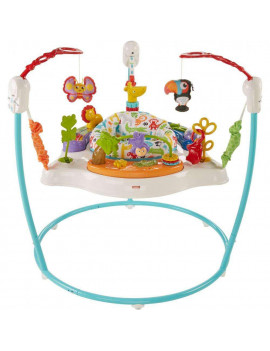 Fisher-Price Animal Activity Jumperoo with Lights & Sounds