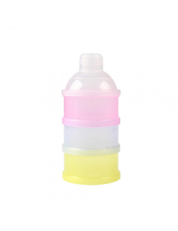 3 Layer Milk Powder Dispenser Case Stackable Formula Suger Cases Medicine Snack Containers BPA-free
