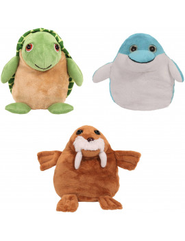 "As Seen on TV Pop Out Pets ""Ocean"" Turtle, Dolphin, Walrus"