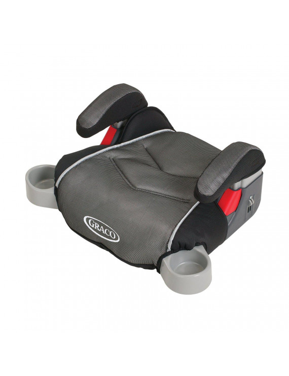 Graco TurboBooster Backless Booster Car Seat, Galaxy Gray