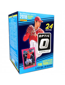 18 Panini Donruss Optic baseball Value Box Trading Cards