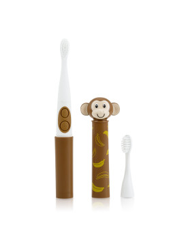 Nuby Electric Toothbrush with animal character, Monkey