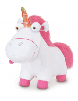 """3 - LIGHT-UP FLUFFY ( APPROX. 12 """" LONG ), Super soft and cuddly plush. By Despicable Me"""