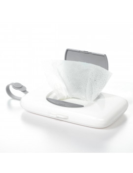 OXO Tot On-The-Go Wipes Dispenser, Gray