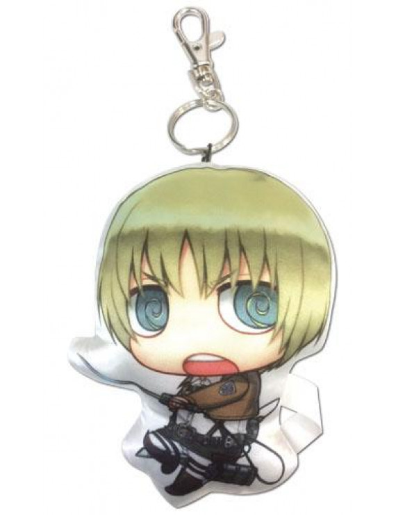 great eastern entertainment attack on titan armin sd plush keychain