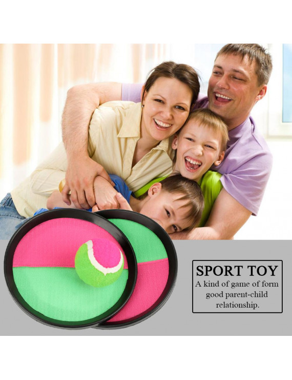 OTVIAP Toss and Catch Game, Sport Toy,Children Sport Toy for Throw and Catch Ball Game Activity Beach Outdoor