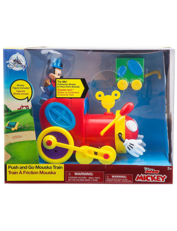Disney Mickey Mouse Clubhouse Push & Go Mouska Train