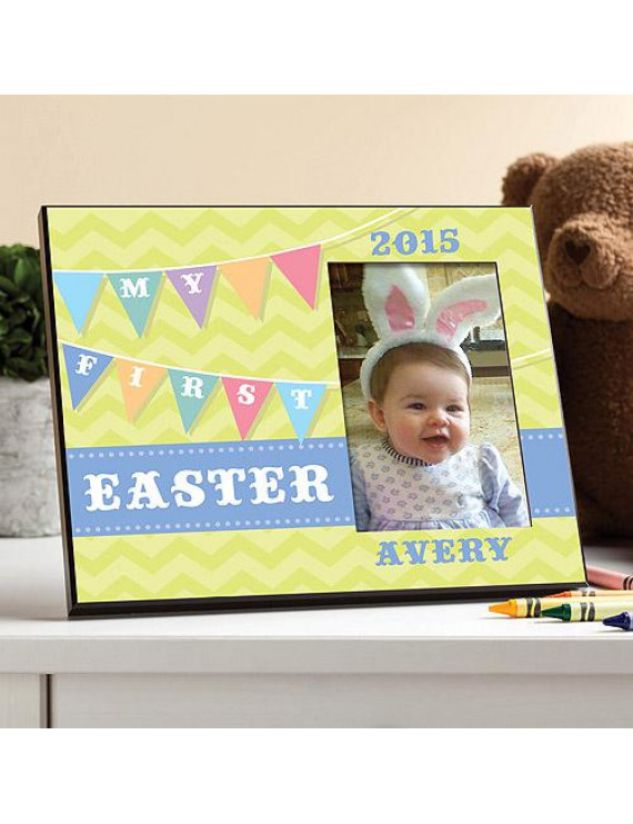 Personalized My First Easter Frame