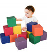 Gymax 24-Piece 8'' PU Foam Big Building Blocks Colorful Soft Blocks Play Set For Kids