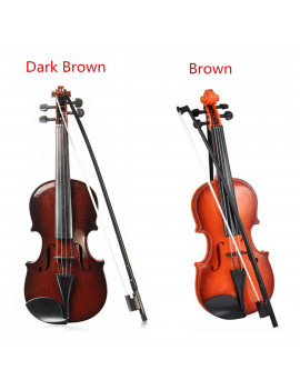 38x13x5cm Plastic Adjustable String Kids Instrument Simulation Violin Toys