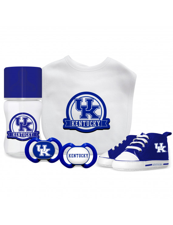 NCAA University of Kentucky 5-Piece Baby Gift Set