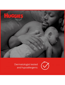 Huggies Special Delivery Hypoallergenic Baby Diapers, Size 4, 50 Ct, Giga Jr. Pack