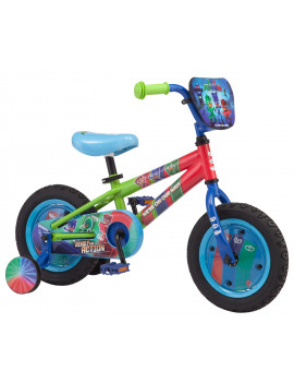 E1 PJ Masks: Catboy Kids Bike, 12-inch wheels, blue, on Disney Junior