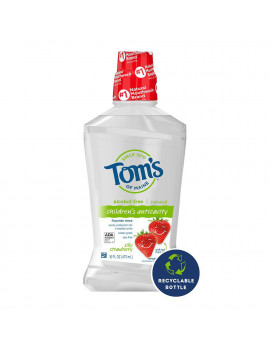 Tom's of Maine Silly Strawberry Children's Natural Mouthwash, 16oz