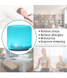 OTVIAP Ultrasonic Cool Mist Humidifier for Home Baby - Premium Humidifying Unit with 120ml Water Tank and Remote Control, Whisper-Quiet Operation, Automatic Shut-Off - Lasts Up to 6 Hours