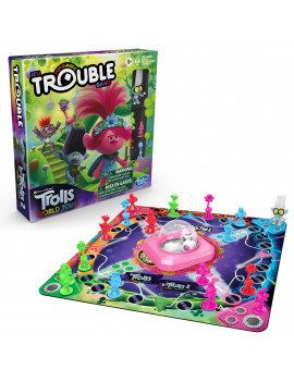 Trouble: DreamWorks Trolls World Tour Edition, 2-4 Players