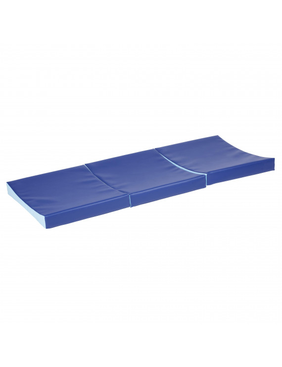 SoftZone® Baby Roll and Crawl Mat - Blue
