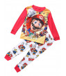 Toddler Kids Baby Boys Super Mario Homewear Sleepwear Nightwear PJs Pajamas Set