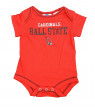 OuterStuff Ball State Cardinals Baby Clothing, University 2 Piece Creeper Apparel Set