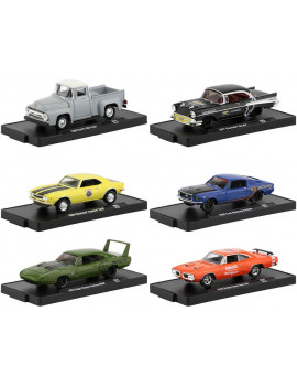 """Drivers"" Release 65, Set of 6 pieces in Blister Packs 1/64 Diecast Model Cars by ""Drivers"" Release 65, Set of  Machines"