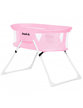 Dream On Me Mackenzie Bassinet in Pink