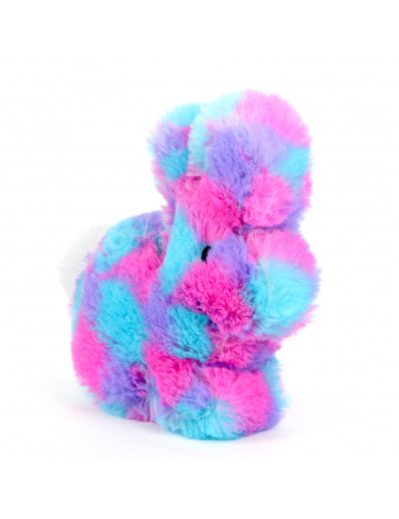 Way to Celebrate Bright Tie Dye Bunny