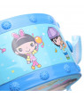 Plastic Drum Instrument Baby Kids Child Musical Early Education Starter Toy Set Blue/Pink