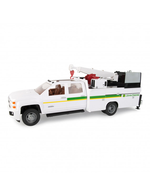 John Deere 1:16 Scale Big Farm Chevy 3500 Service Truck
