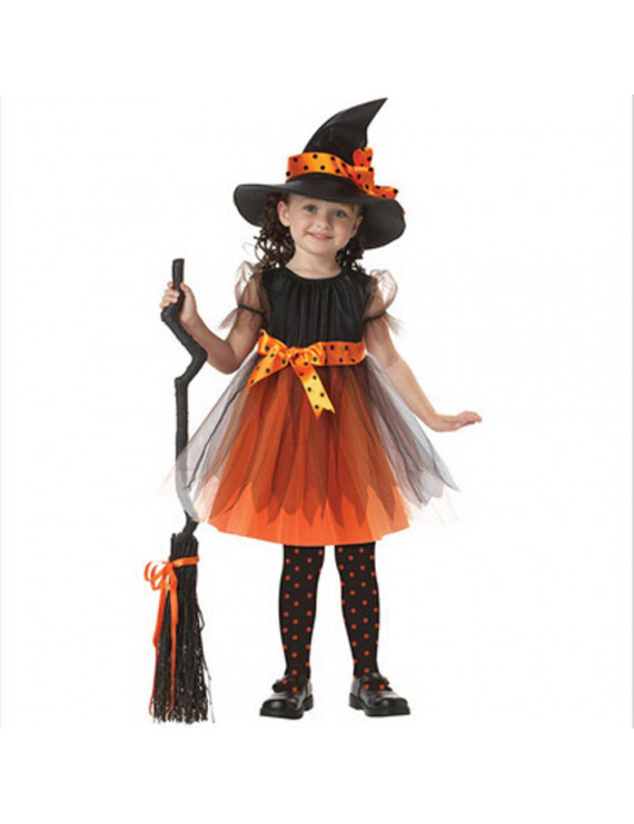 Mosunx Toddler Kids Baby Girls Halloween Clothes Costume Dress Party Dresses+Hat Outfit