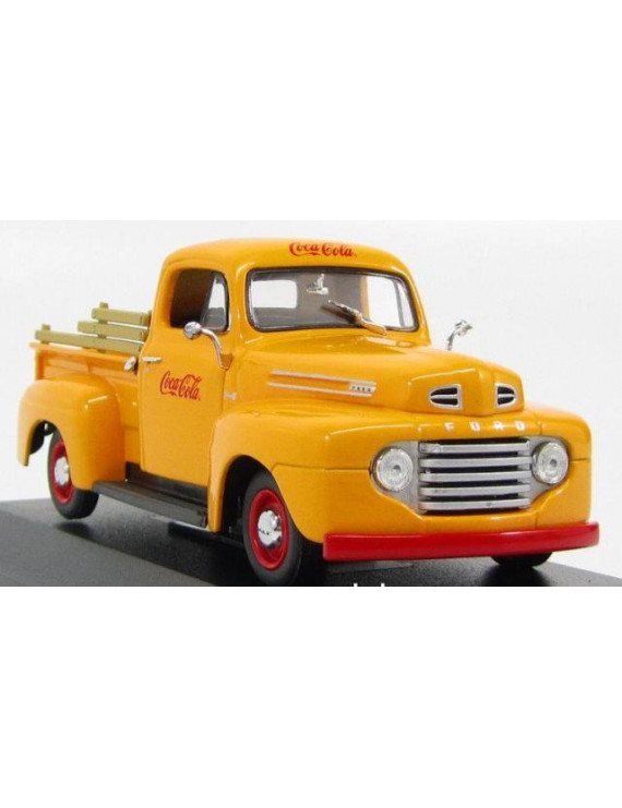 1949 Ford F1 - Coca Cola Diecast Model Car in 1:43 Scale by Minichamps