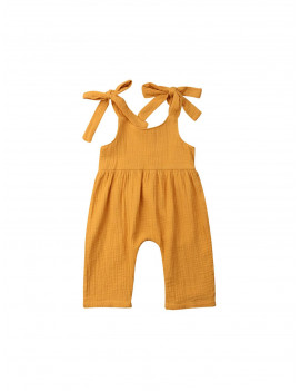 0-24M Newborn Kids Baby Girl Boy Clothes Sling Cotton Sleeveless Romper Elegant Cotton Soft Jumpsuit plain Sunsuit outfit