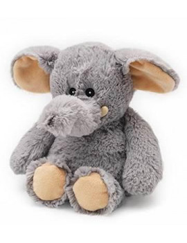 ELEPHANT - WARMIES Cozy Plush Heatable Lavender Scented Stuffed Animal