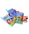 TOOLS Animal Stereoscopic Tails Cloth Book Baby Early Education Education Books Toys
