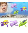 Pudcoco New Arrival Wind up Swim Turtle/Hippopotamus/Crocodile Pool Animal Toy For Baby Kid Bath Shower Hot FashionToys
