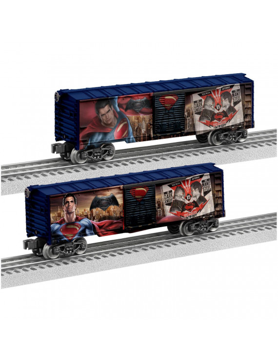 Lionel Trains Man of Steel Boxcar