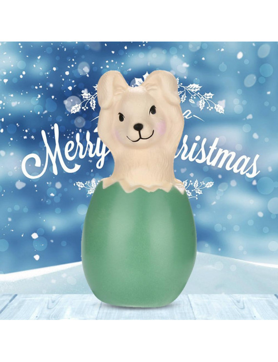 Adorable Squishies Christmas Bunny Slow Rising Fruit Scented Stress Relief Toy