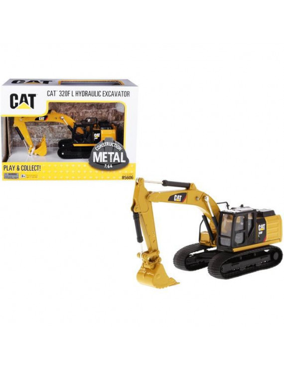 Diecast Masters 85606 CAT Caterpillar 320F L Hydraulic Tracked Excavator 1 by 16 4 Diecast Model
