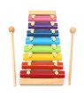 Colorful 8 woodeninstrument Different Tones Hand Knock Wood Piano Kids Toy Xylophone Music Rhythm Learnin In Advance For Preschoolers And Toddlers