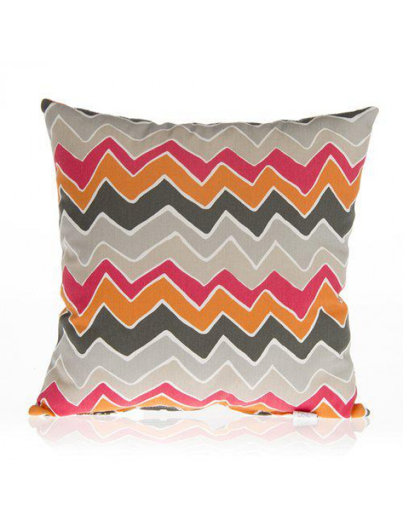 Zoomie Kids Buller Chevron Cotton Throw Pillow