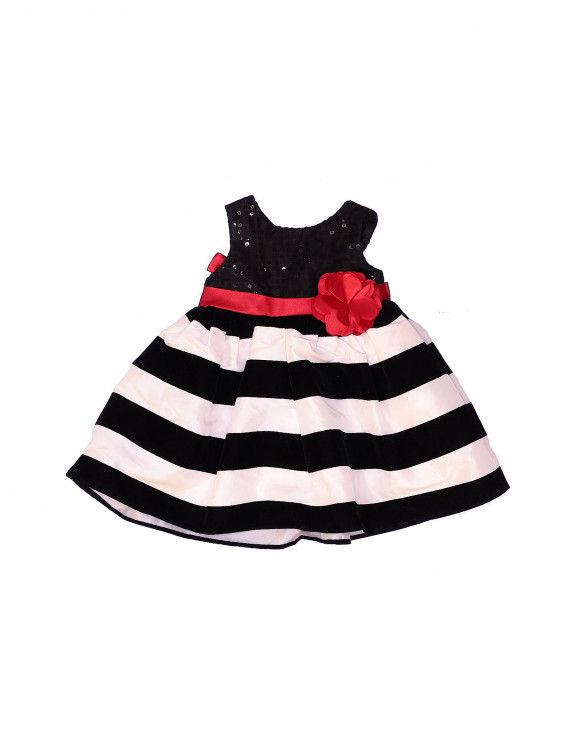 Pre-Owned Sweet Heart Rose Girl's Size 6-9 Mo Special Occasion Dress