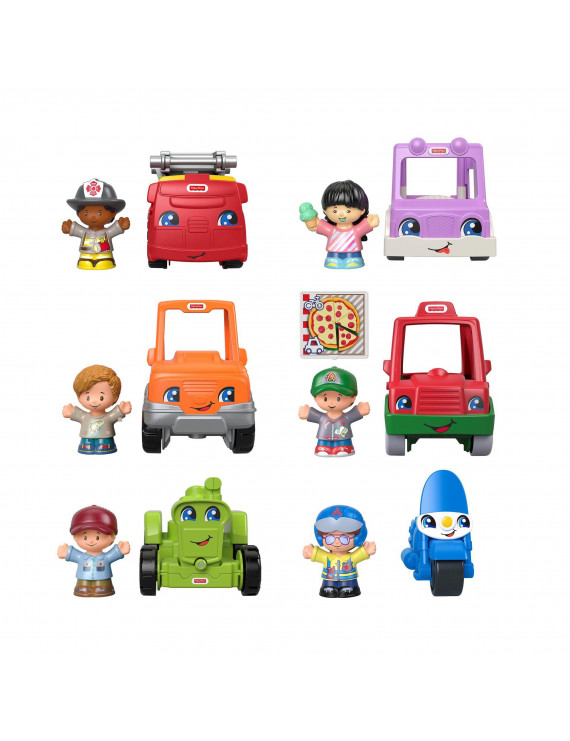 Little People Friendly Neighborhood Vehicle Gift Set