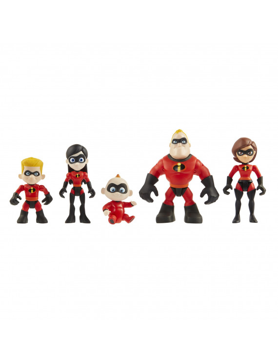 Incredibles 2 Family Junior Supers Action Figure 5-Pack